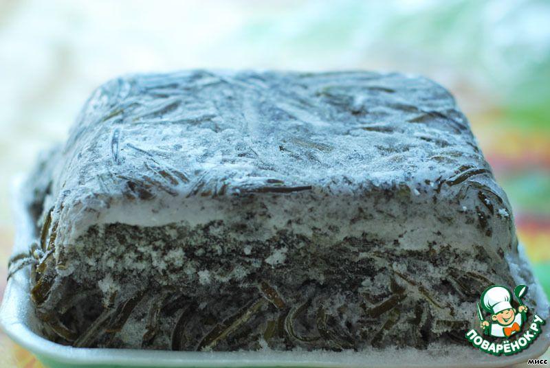 как варить морскую капусту замороженную